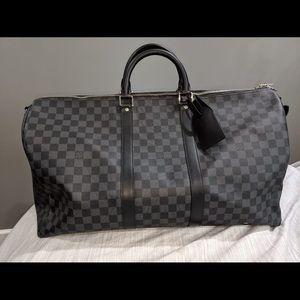 Louis Vuitton duffle bag